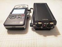 Sony D100 Zubehör XLR-1.JPG